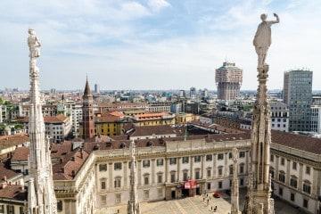 Duomo terrace documents