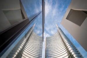 Zones of Milan: skyscrapers
