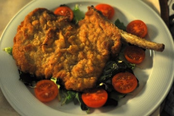 Typical food - cotoletta