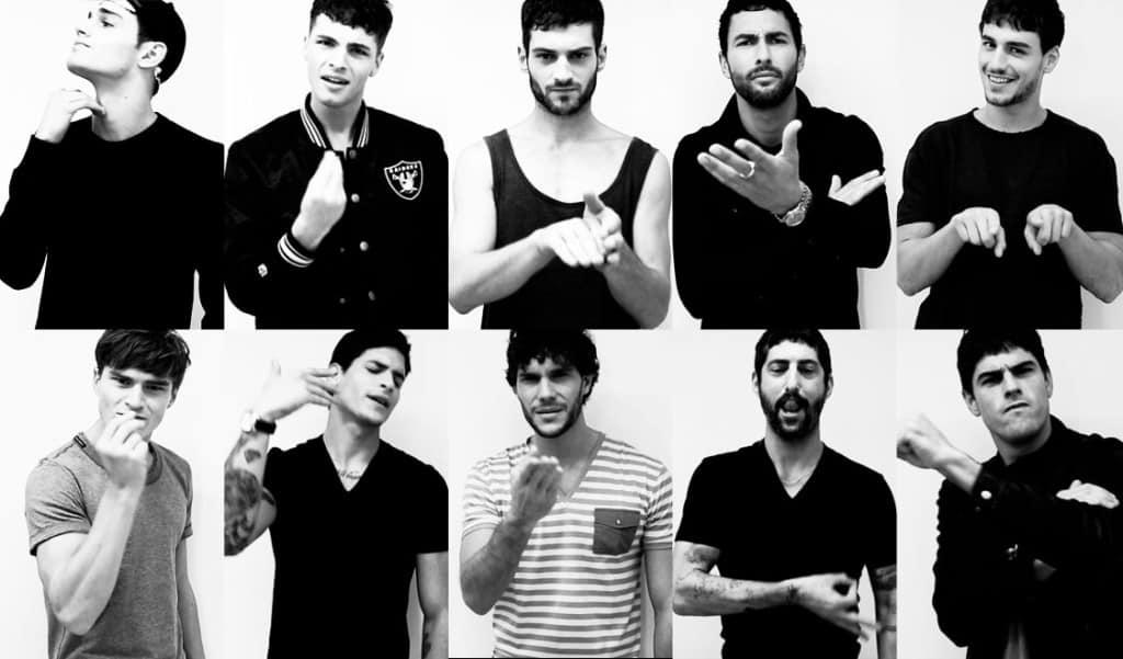 Speak italian with your hands: D&G