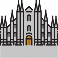 Erasmus Milan Info Icon Duomo