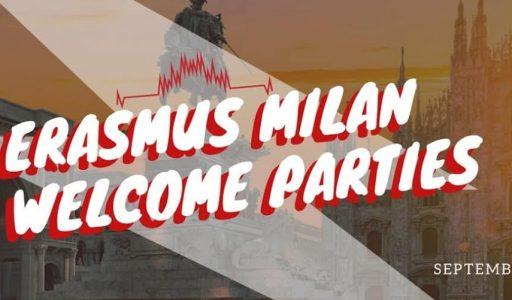 Erasmus Welcome Parties September 2020